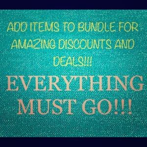 Other - 🌟🌟🌟EVERYTHING MUST GO 🌟🌟🌟